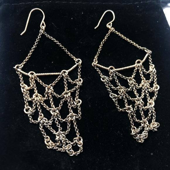 Jewelry - Chain Chandelier Earrings
